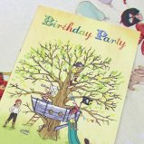 英国 Belle&Boo グリーティングカード 【大きな木と小さな海賊たち】