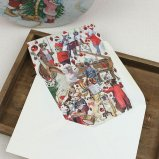 クリスマスカード ワンちゃんのX'mas演奏会 グリーティングカード 犬