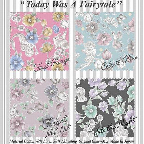 Joli Fleur La Toile×MUTTI  ジョリーフルールToday Was A Fairytale 【Into The Night】 110cm×50cm