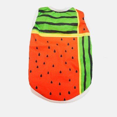 夏!! スイカ TシャツS 限定デザイン 着丈31cm 胴回り40cm 首回り21cm