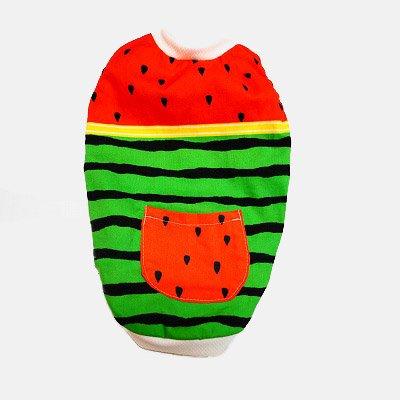 夏!! スイカ TシャツSS 限定デザイン 着丈28cm 胴回り38cm 首回り18cm