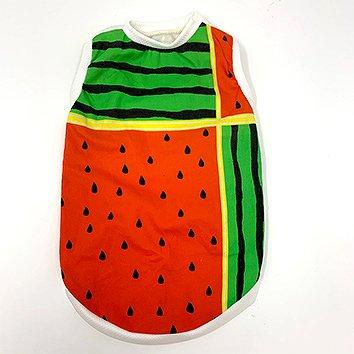 夏!! スイカ TシャツS 限定デザイン 着丈37cm 胴回り51cm 首回り28cm