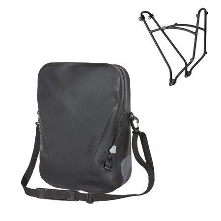 Ortlieb(オルトリーブ) シングルバッグ+ラック1(Single bag+RACK1) ブラック【QL3.1】