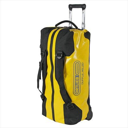 Ortlieb(オルトリーブ)トラベルバッグ ダッフルRG(Travel bag Duffle RG) 60L サンイエロー/ブラック