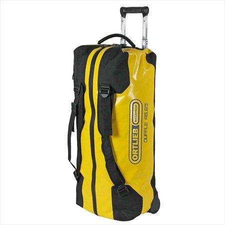Ortlieb(オルトリーブ)トラベルバッグ ダッフルRG(Travel bag Duffle RG) 85L サンイエロー/ブラック
