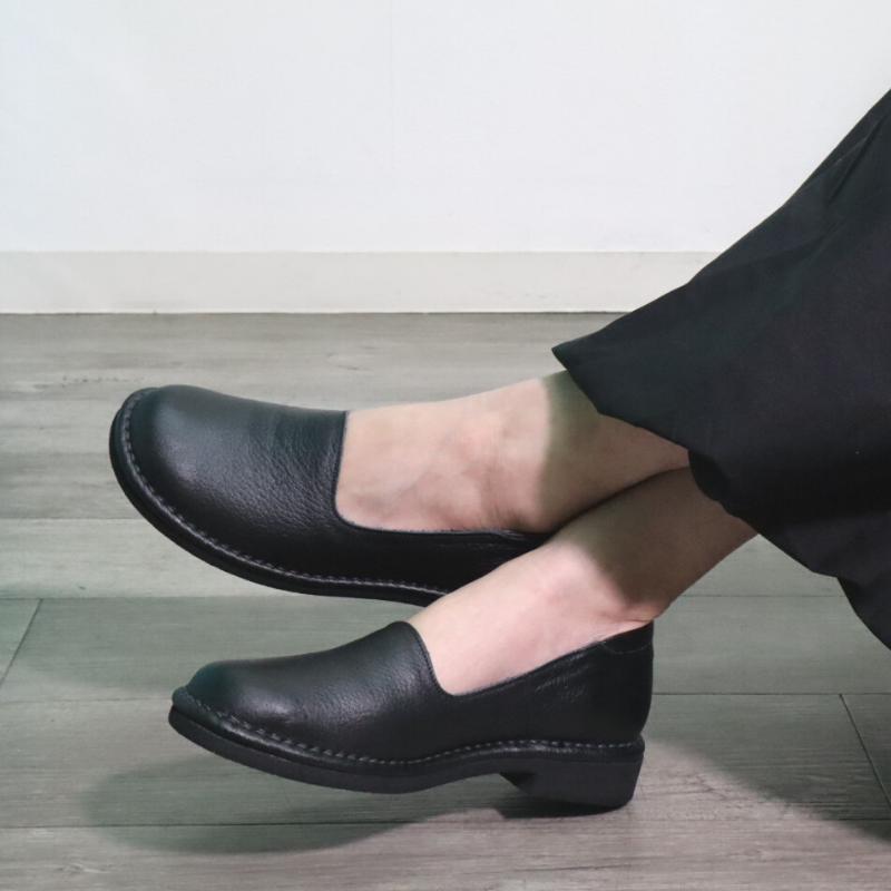 【日本製】5E幅広 本革コンフォートシューズ