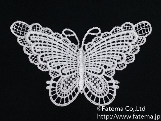 蝶柄刺繍モチーフ 10-05111-1