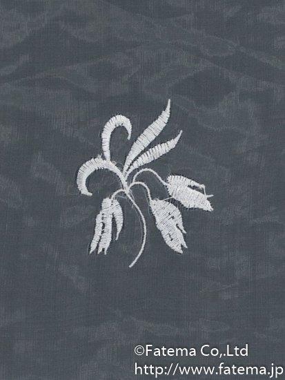 刺繍オーガンジー生地 10-05113-46