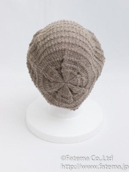 ベビーアルパカ ベレー帽 1-19-11022-2