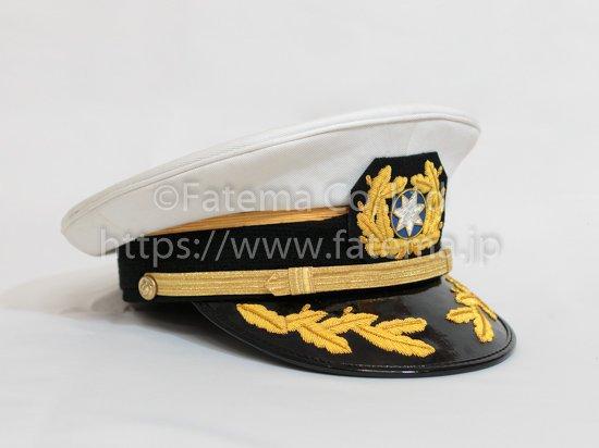 軍服用帽子(白)  22-09016-1