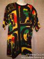 ボブマーリー・ラスタカラー コットンT−シャツ 1-4200-10