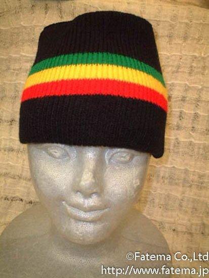 ラスタカラー 毛糸帽子 1-4238-1