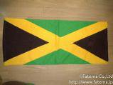 ラスタカラー タオル(ジャマイカ国旗) 1-5100-3