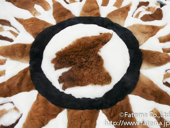 アルパカ絨毯 19-5001