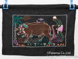 ノクシカタ刺繍 タペストリー