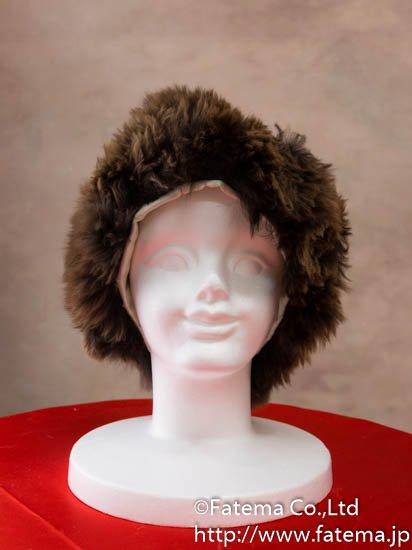 アルパカ ロシアンスタイル帽子 1-19-11003-1