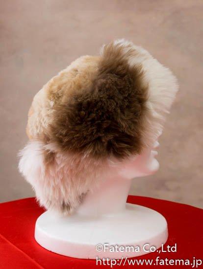 アルパカ ロシアンスタイル帽子 1-19-11003-2