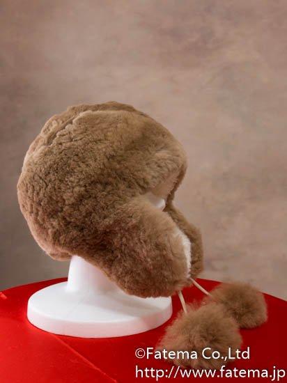アルパカ ぽんぽん帽子 1-19-11004-1