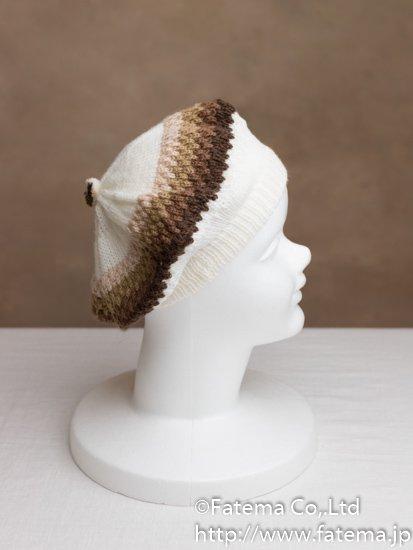 アルパカ ベレー帽 1-19-11010-1