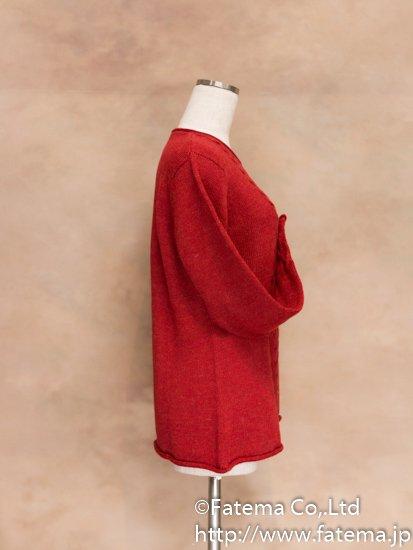 レディース ベビーアルパカ100% セーター Lサイズ 1-19-04017-1
