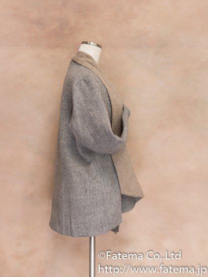 レディース ベビーアルパカ コート Lサイズ 1-19-04018-1