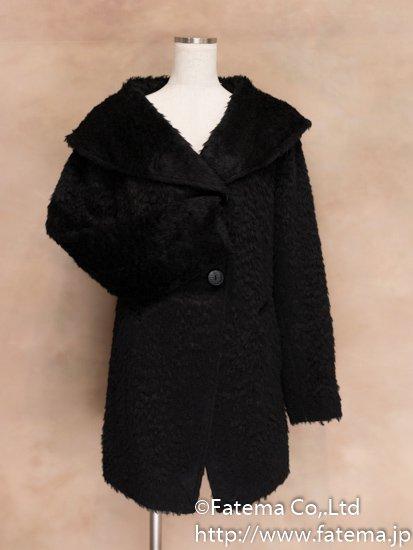 レディース ベビーアルパカ コート Mサイズ 1-19-04020-1