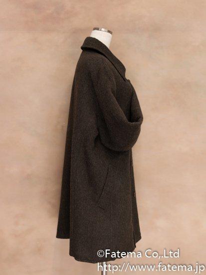 メンズ ベビーアルパカ コート Lサイズ 1-19-04021-1