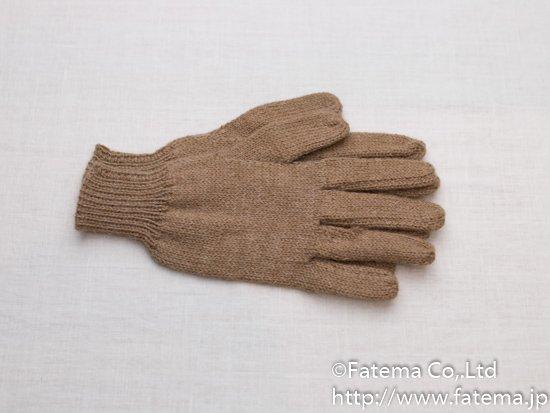 ベビーアルパカ100% 手袋 1-19-11009-4
