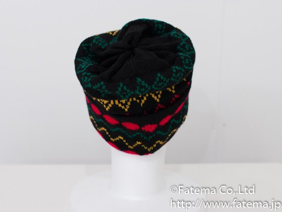 ラスタカラー帽子(ニット帽) 1-01-04285-1
