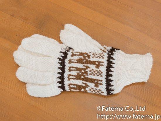 アルパカ 手袋 1-19-11013-3