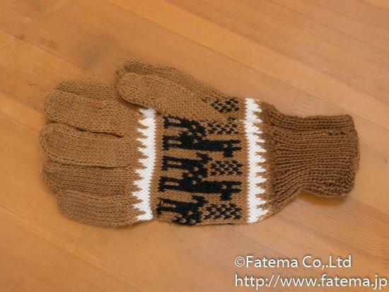 アルパカ 手袋 1-19-11013-6