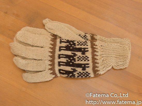 アルパカ 手袋 1-19-11013-7