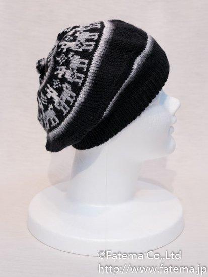 アルパカ ベレー帽 1-19-11018-32
