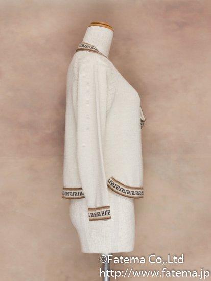 レディース アルパカ100% セーター Sサイズ 1-19-04027-1