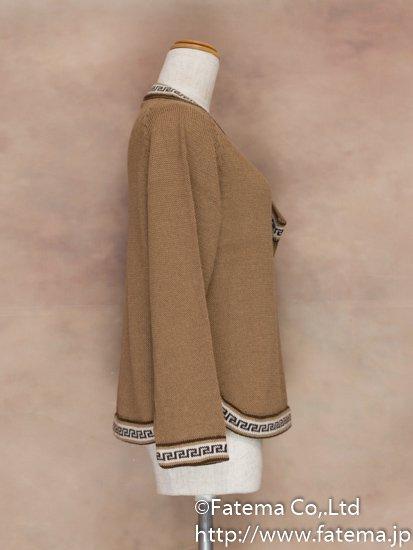 レディース アルパカ100% セーター Mサイズ 1-19-04027-2