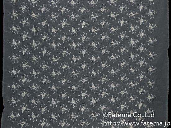 オーガンジー刺繍レース(ビーズ付き) 10-05024-1