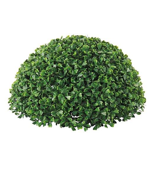 造花観葉植物、フェイクフード、装飾飾付販売緑花堂の35cm ボックスウッドボール(片面)