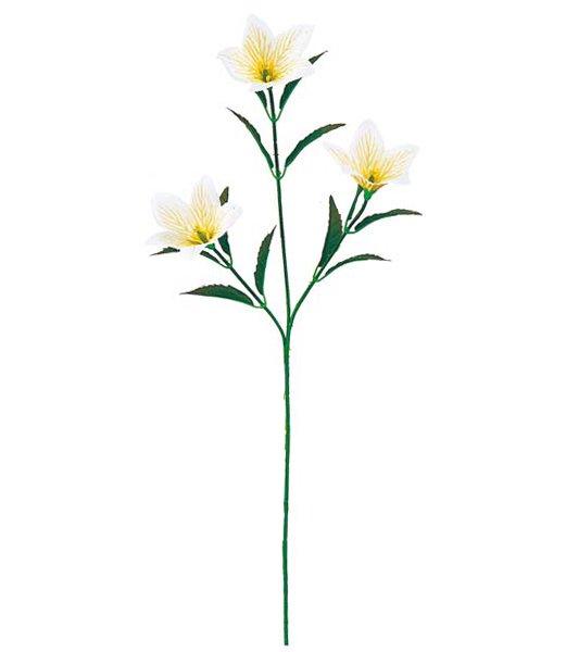 【全品30%以上OFF!】【送料540円沖縄除く】造花 キキョウ(3)(桔梗の花)