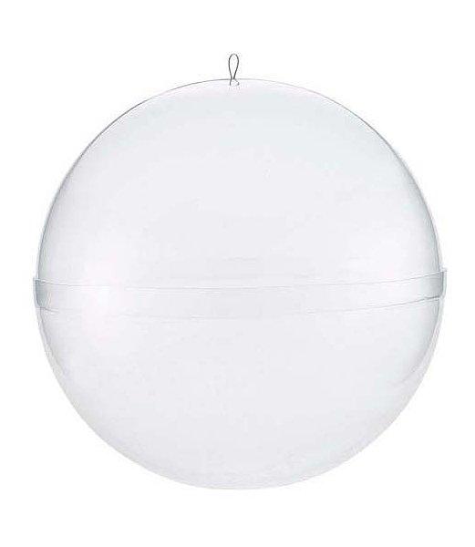 【全品30%以上OFF!】【送料540円沖縄除く】150mm径 球体(透明) プラスチック