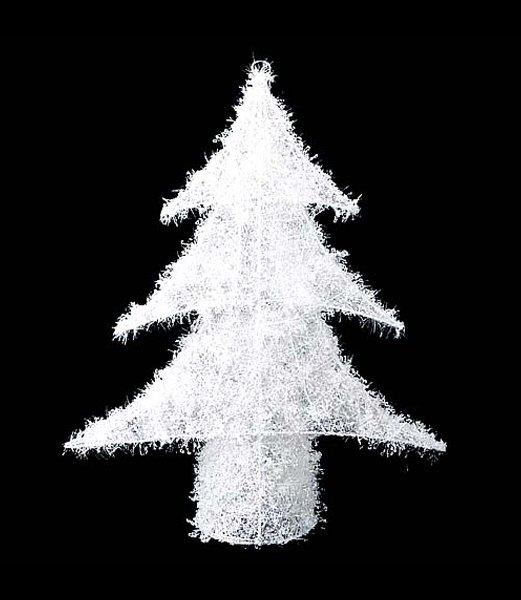 【全品30%以上OFF!】【送料540円沖縄除く】クリスマスツリー飾り スノー 50cm オーロラアイスツリー