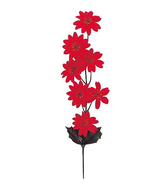 【全品30%以上OFF!】【送料540円沖縄除く】クリスマス造花フラワー ポインセチア(7)