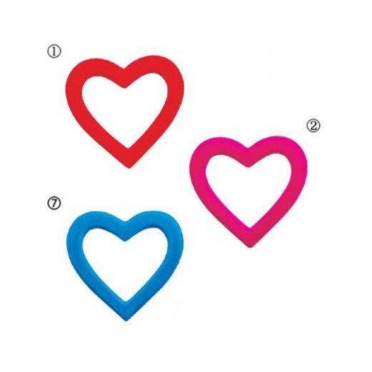 【全品30%以上OFF!】【送料540円沖縄除く】バレンタイン 結婚式 装飾デコレーション 25cm フロックリングハート(3個入り)