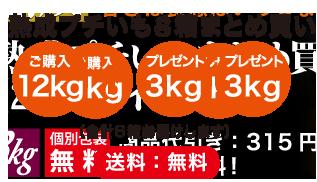 熟成プチいもセット4箱セット+2箱プレゼント(18kg)【特典3kg増量】