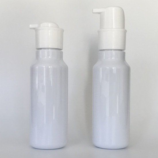 ワンハンドポンプK504 + 専用PET400mLボトル (10本セット)(空容器)