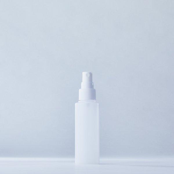 フィンガースプレー白+100mlPEボトル容器100本セット