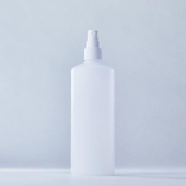 フィンガースプレー白+500mlPEボトル容器100本セット