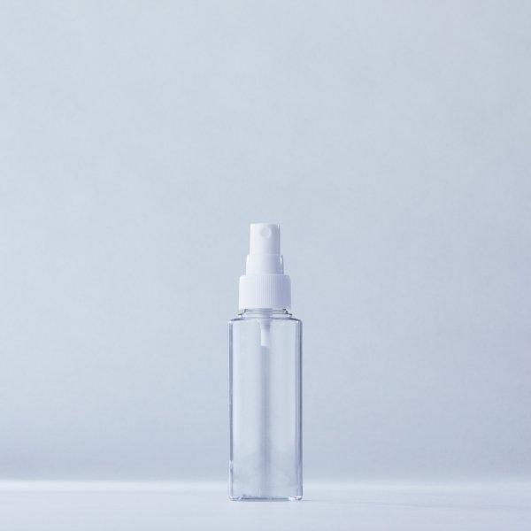 フィンガースプレー白+100mlPETボトル容器100本セット
