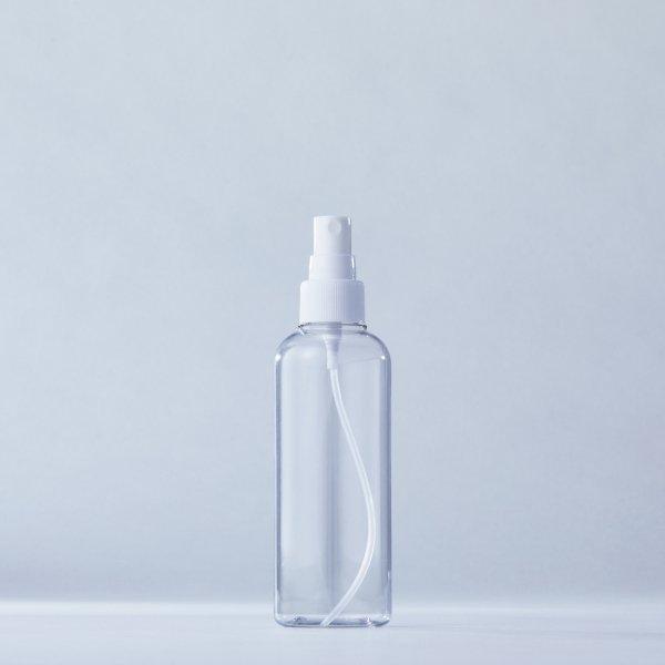フィンガースプレー白+200mlPETボトル容器100本セット