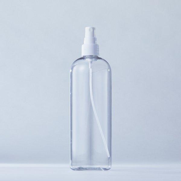 フィンガースプレー白+500mlPETボトル容器100本セット
