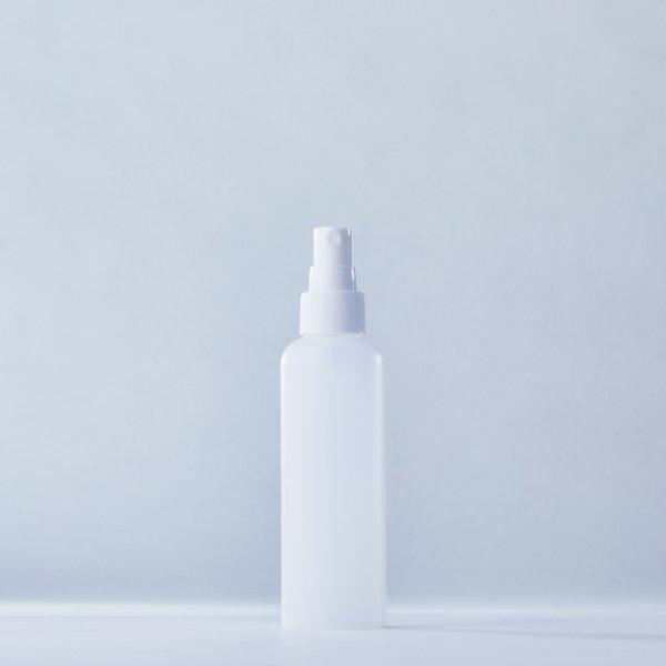 フィンガースプレー白+150mlPEボトル容器(Rタイプ)100本セット(ロット1000本以上)